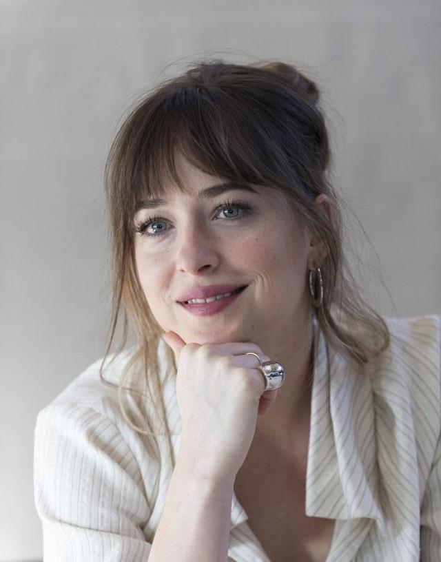 Dakota Johnson. Photo courtesy of Janet Susan R. Nepales/HFPA