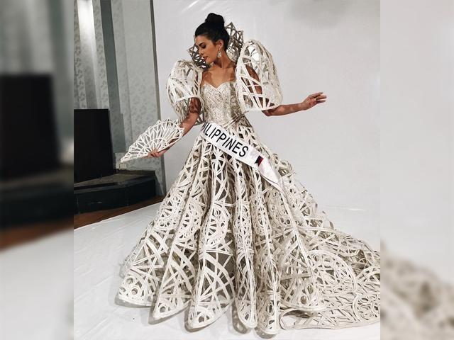 Katarina Rodriguez wears Francis Libiran for national costume ...
