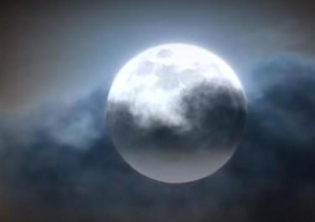 Superstitious folks welcome Super Blue Blood Moon in noisy