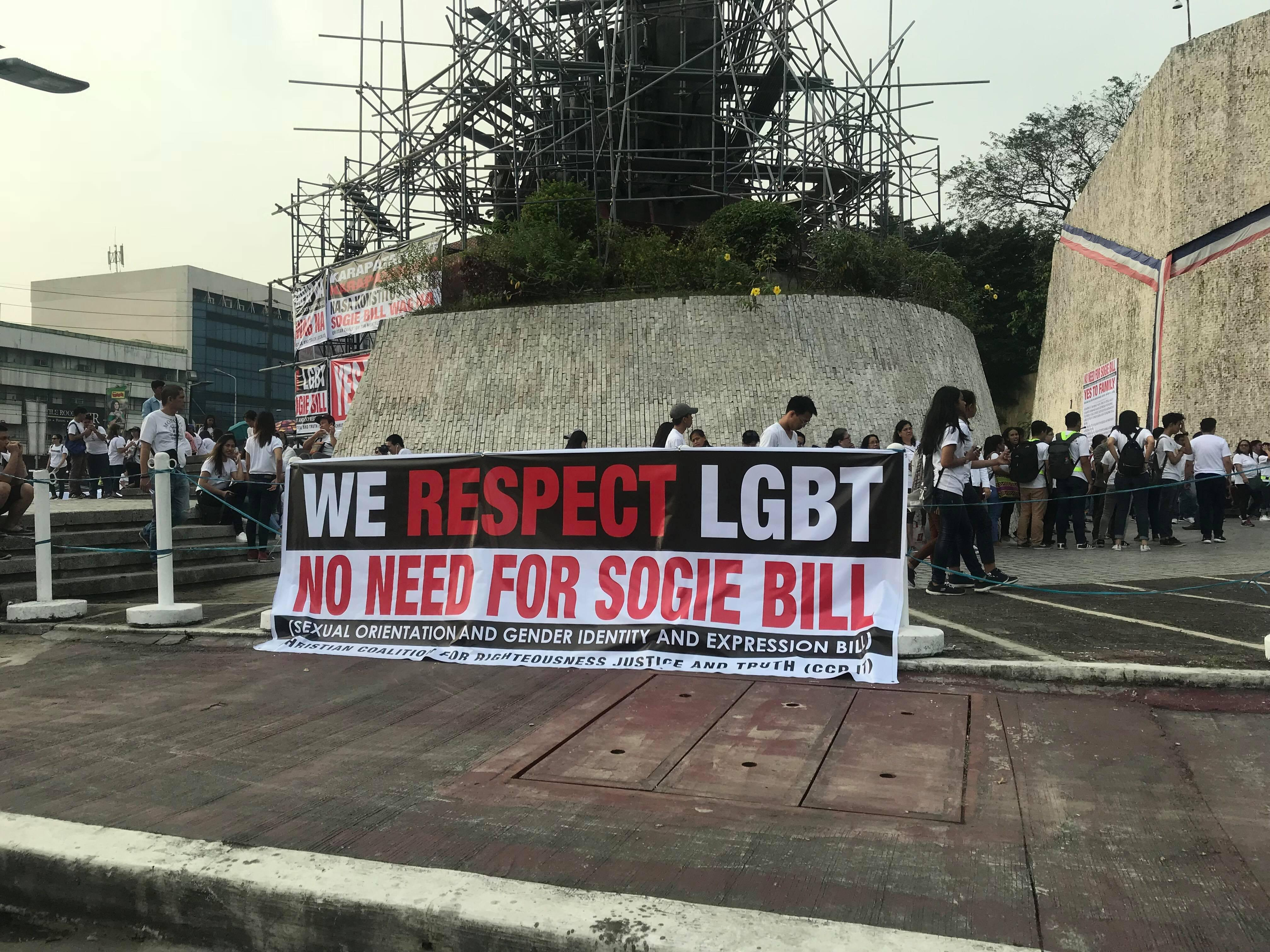 Non-discrimination towards homosexuality and christianity