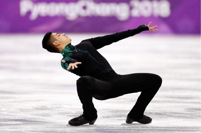 Michael Martinez of the Philippines performs in Men Single Skating short program competition at the Gangneung Ice Arena in South Korea during the Pyeongchang 2018 Winter Olympics on Friday, February 16, 2018. Martinez finished the figure skating short program with a total score of 55.56. Reuters/John Sibley