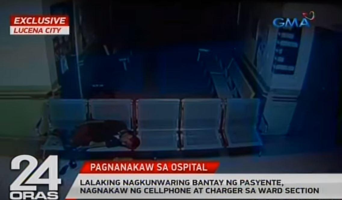 Fake hospital 'bantay' nabbed for stealing phone, charger in
