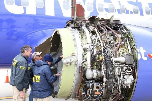 Airlines check some Boeing 737 engines after fatal Southwest