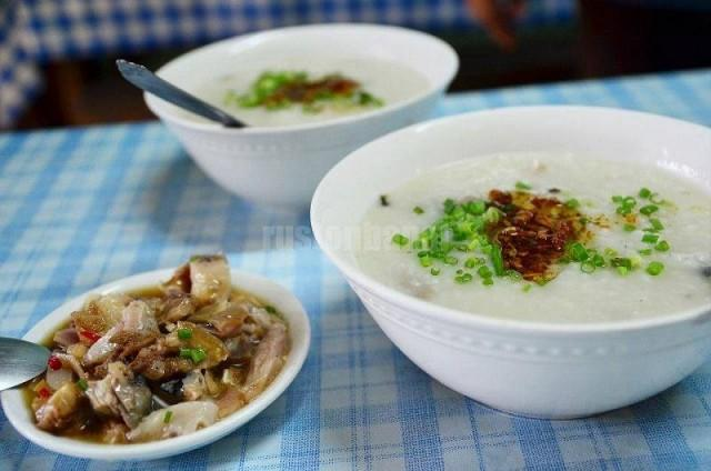 In the olden days, sisig was prepared for pregnant mothers. Instead of grilled, the pig parts