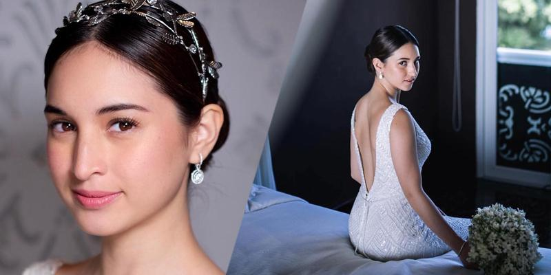 Coleen Garcias Elegant Wedding Look Lifestyle Gma News Online
