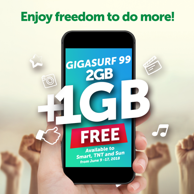 Enjoy freedom to do more with this free 1GB data promo | SciTech