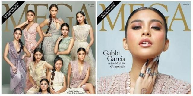 Gabbi Garcia graces the cover of Mega Magazine | Showbiz | GMA News