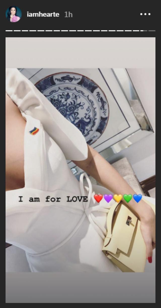 Photo: Heart Evangelista/Instagram Stories