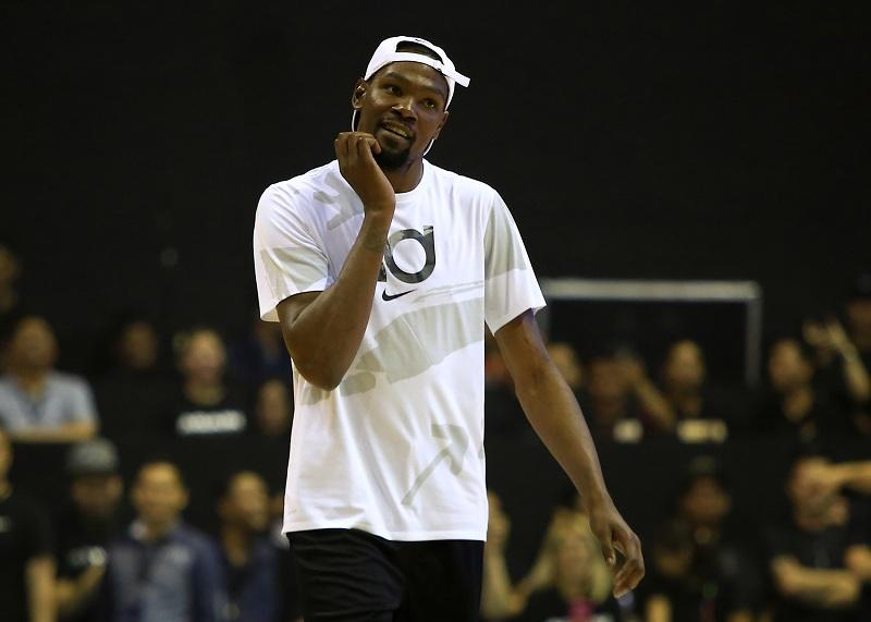 ffb3ccdccde6 Warriors forward Durant apologizes for Game 1 ejection