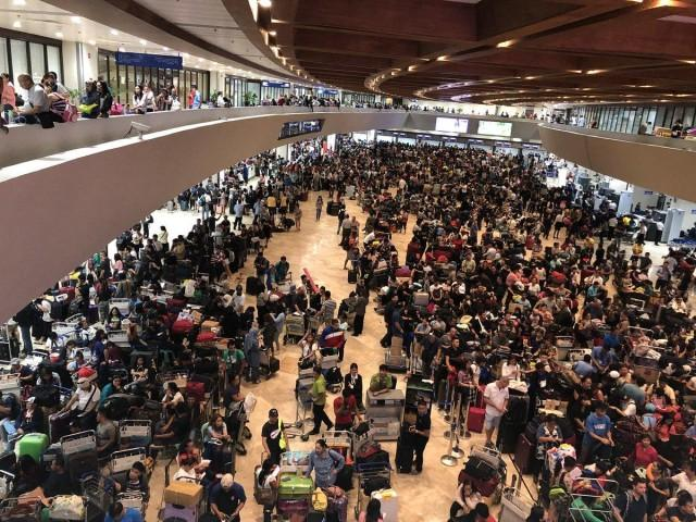 Solon stresses need for another airport outside Metro Manila