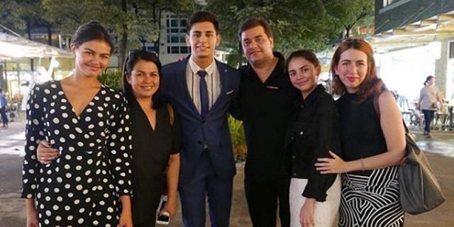 Lotlot De Leon Monching Gutierrez Reunite For Son Diegos Graduation