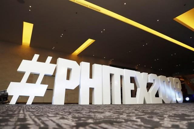 Over 200 buyers and 220 seller participate in this year's Philippine Travel Exchange (PHITEX). The event aims to promote the country as a premier tourist destination among some of the world's biggest travel and tour buyers. Photo: Stanley Baldwin O. See