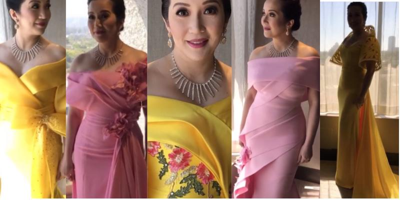 Kris Aquino tries on five beautiful gowns for the \'Crazy Rich Asians ...
