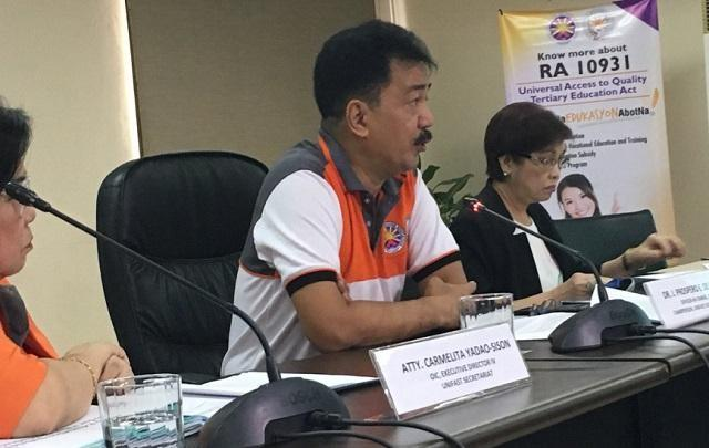 CHED: We are not anti-Filipino for not requiring Filipino