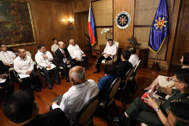 Duterte Expected To Attend Briefing Of Cabinet Execs On Illegal
