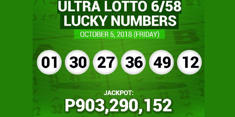 Still no Ultra Lotto 6/58 winner as jackpot reaches P903