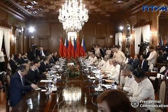 Phl China Ink Mou On Oil Gas Cooperation News Gma News Online