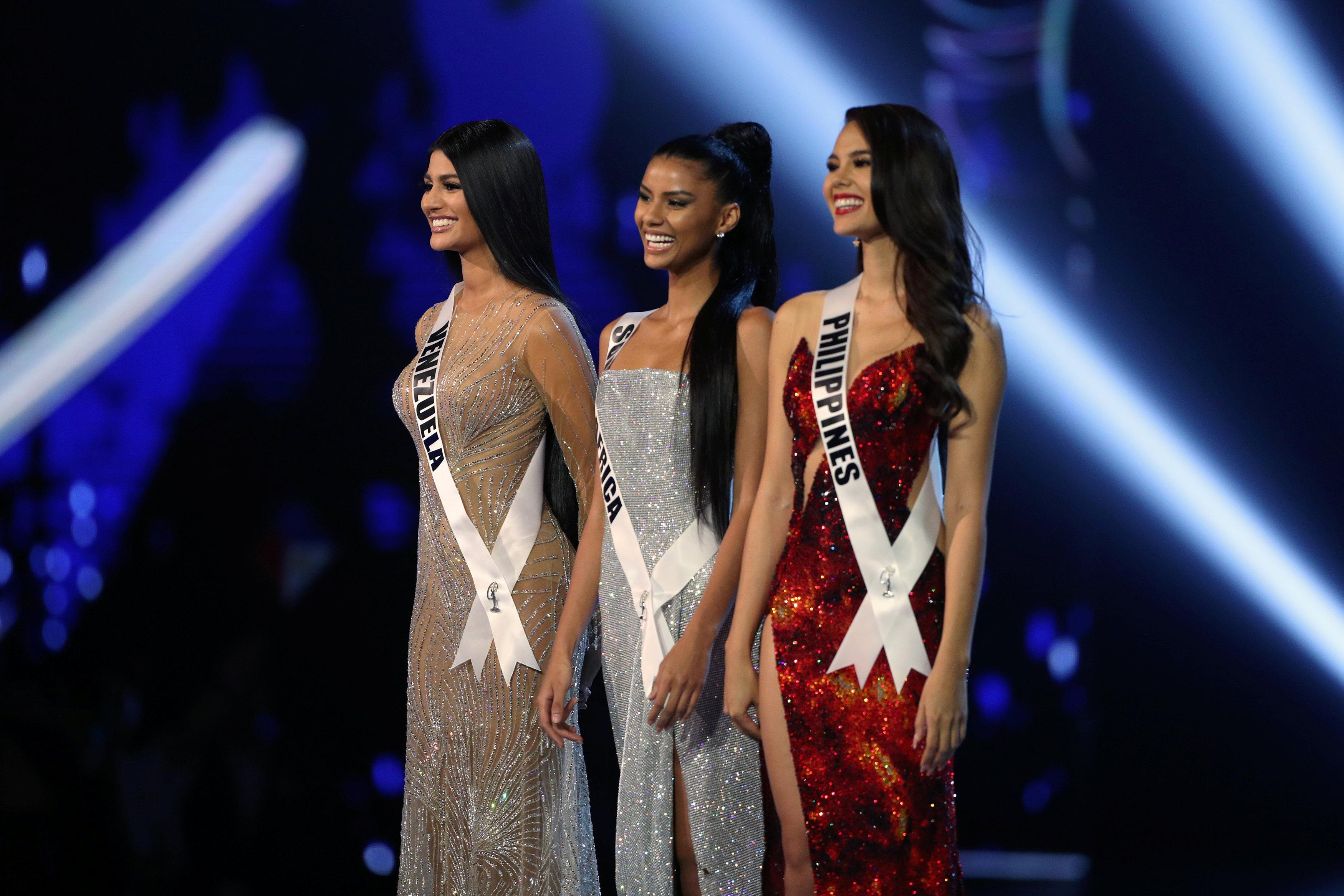 2018 MISS UNIVERSE Results