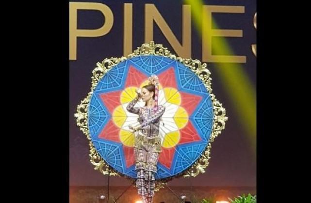Catriona Gray displays Luzon, Visayas, Mindanao in Miss