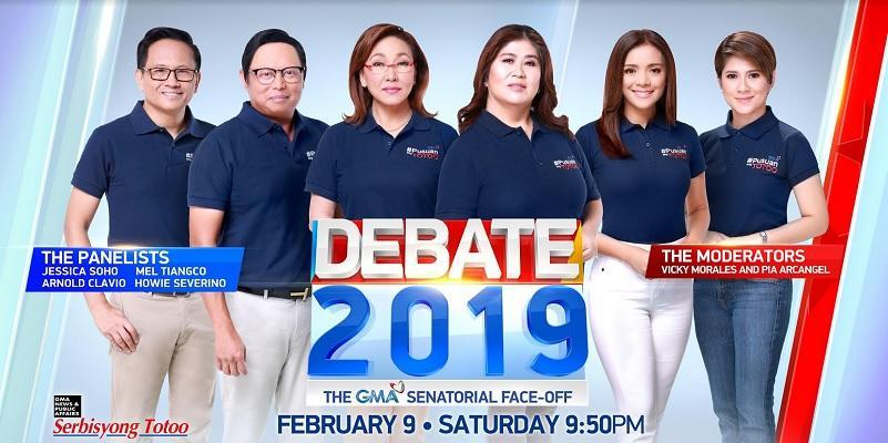 Debate 2019: The GMA Senatorial Faceoff — live stream, date