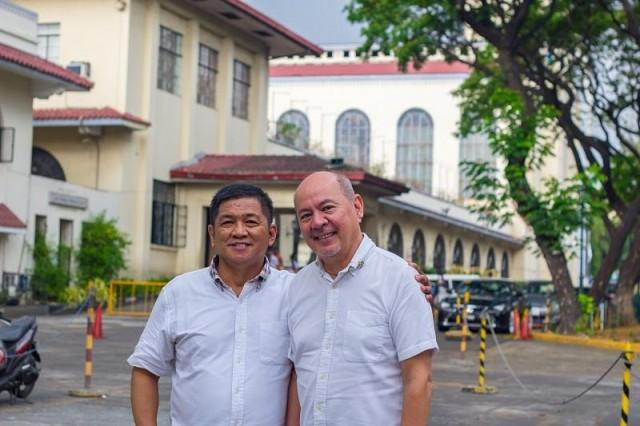 Chef Willy Dominco and owner Vic Alcuaz have worked together since the '90s, working together in international hotel chains here and abroad