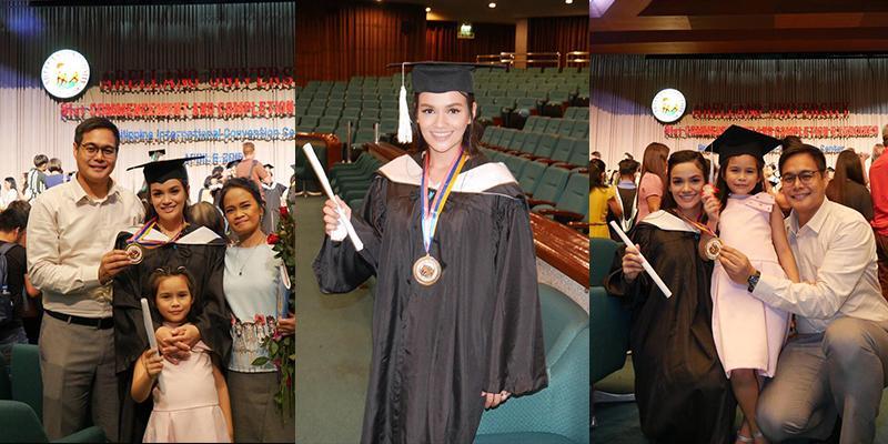 Yasmien Kurdi graduates magna cum laude with degree in political science | Showbiz