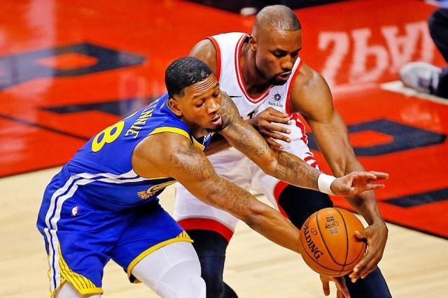 Raptors hold off Warriors to win Game 1 of NBA Finals