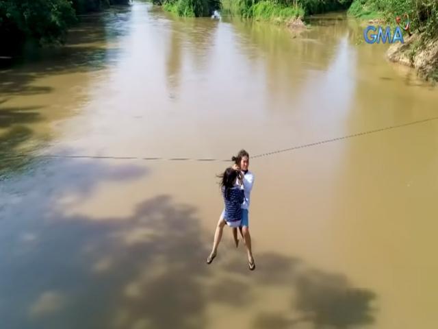 Mga resident ng isang barangay sa Compostela Valley, nakasalalay sa zipline ang buhay at kabuhayan   Talakayan   Balitambayan