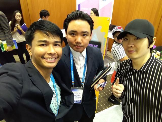 Nash Ang and his team