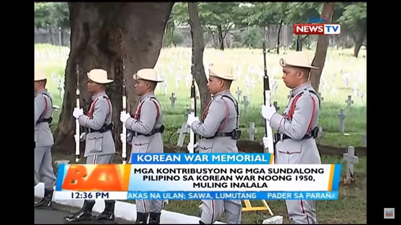 PHL, South Korean remember sacrifice of Pinoy veterans in