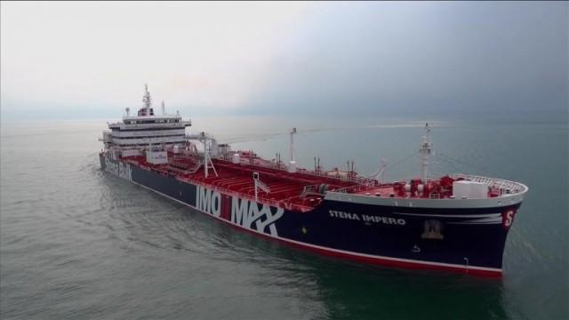 Iran says UK-flagged tanker with Pinoy on board being probed after