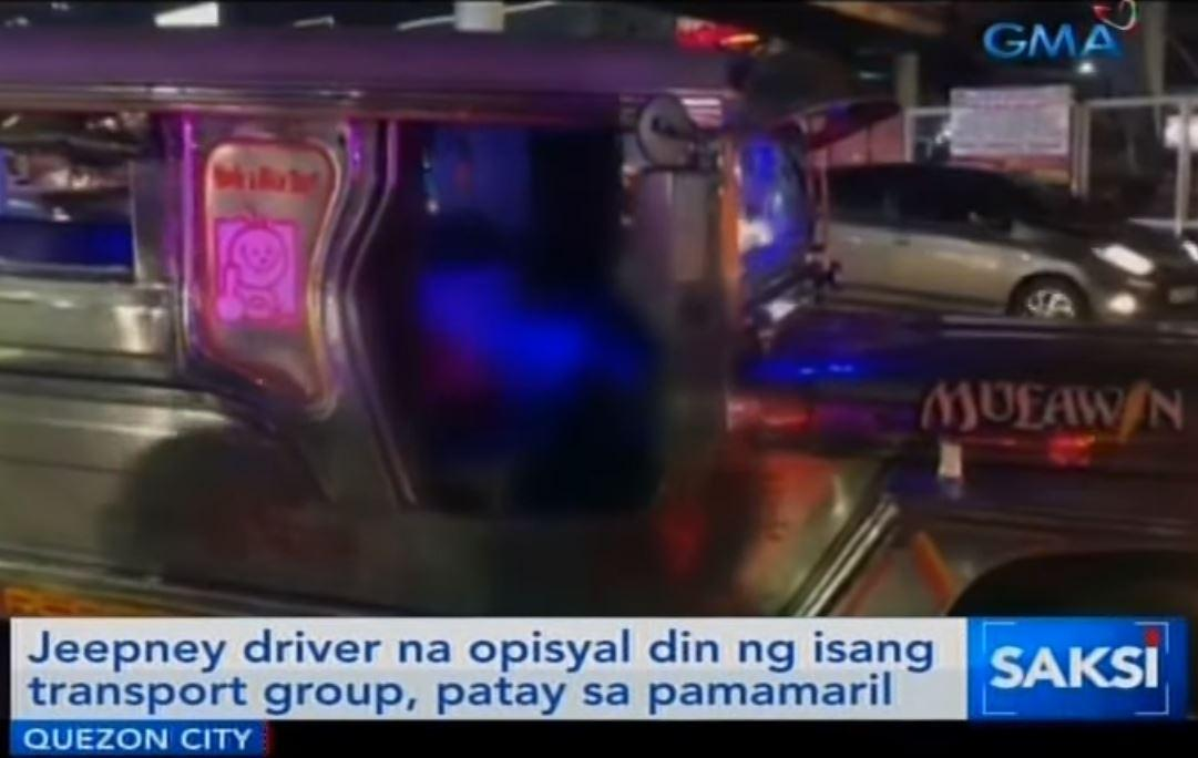 ebb12a763df Transport group officer shot dead in Quezon City | News | GMA News ...