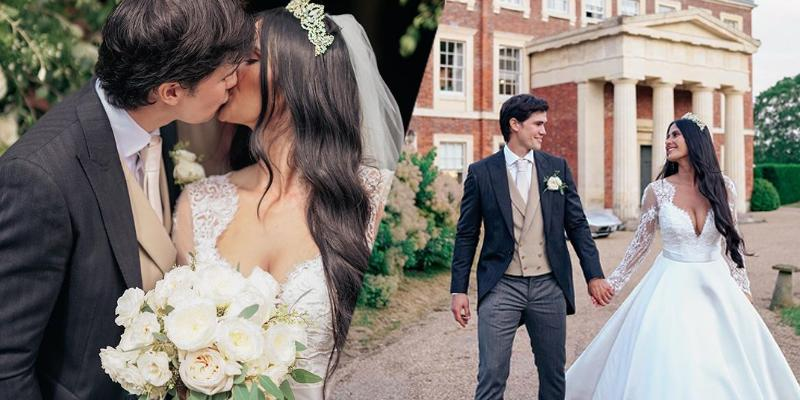 Phil Younghusband Shares Photos Of His Wedding In England