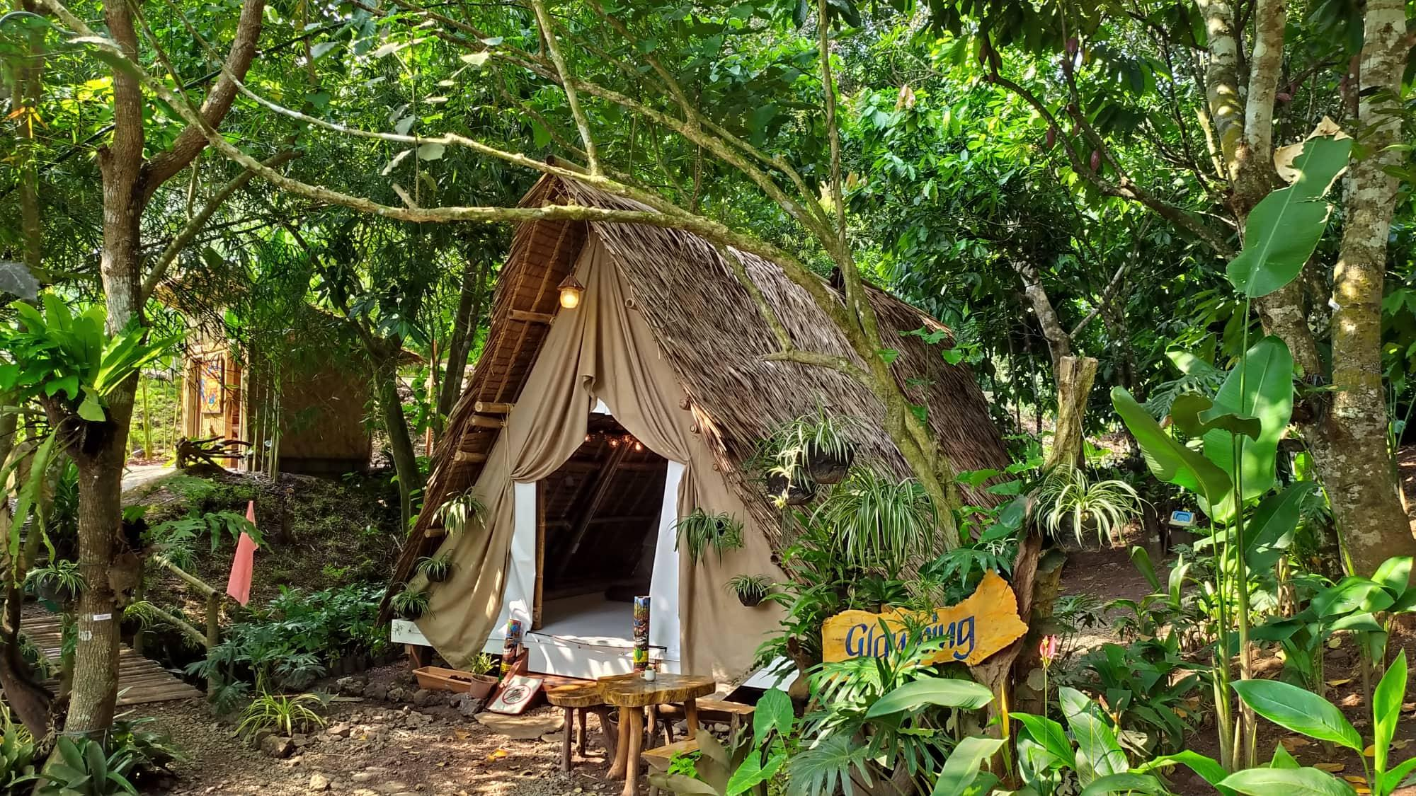 Alternative To Palawan's Island Beaches: Glamping And