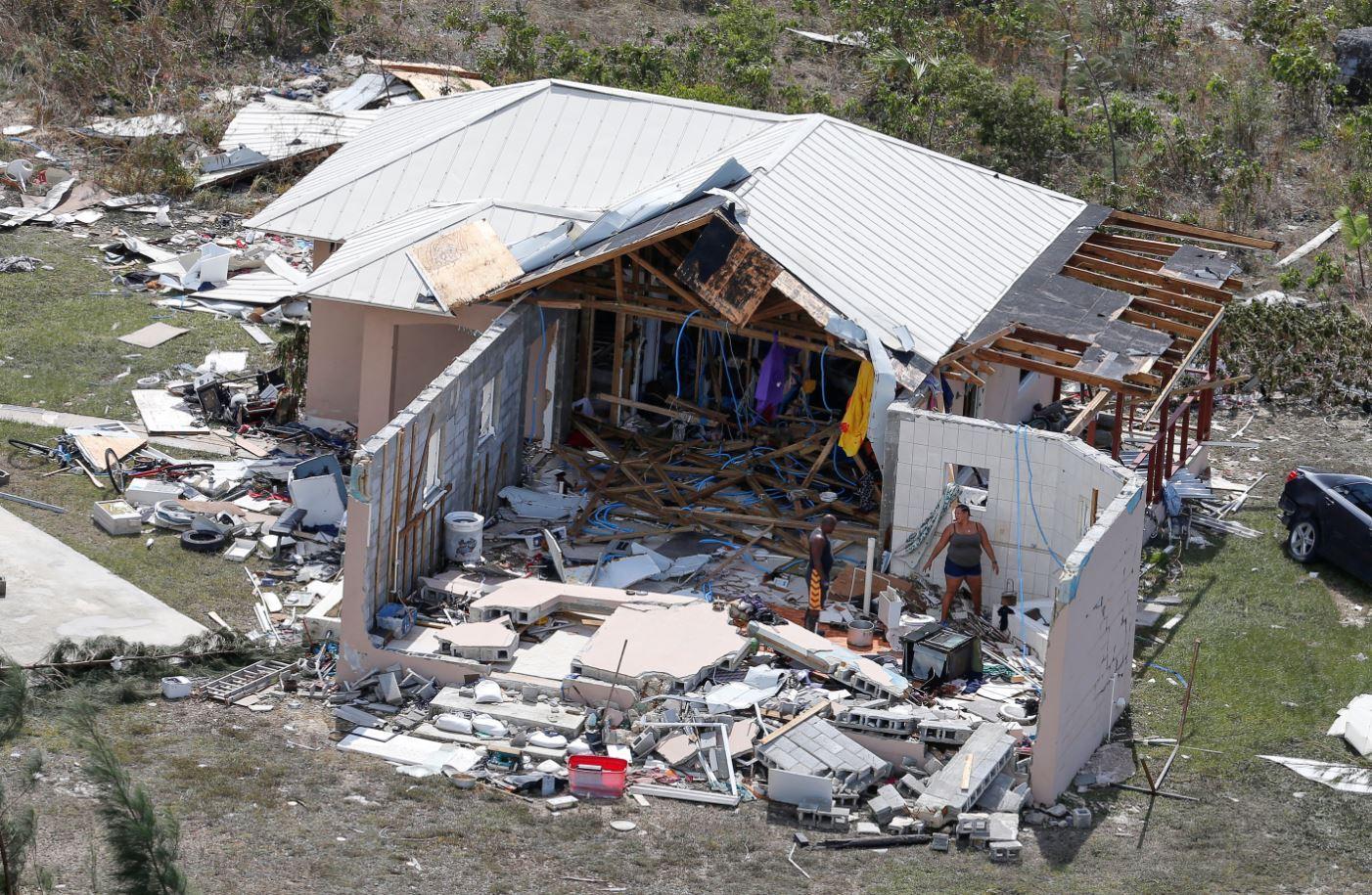Image result for hurricane houses flattened