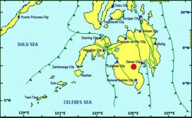 PHIVOLCS reported a mild quake at 12:35 a.m. early Thursday, Oct. 31. PHOTO FROM PHIVOLCS WEBSITE