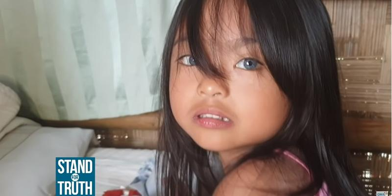 Why Does This Filipino Girl In Sarangani Have Blue Eyes