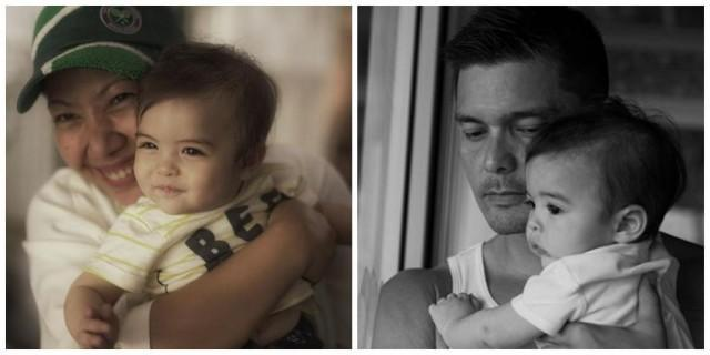 Dingdong Dantes brings Baby Ziggy to work - Showbiz - GMA ...