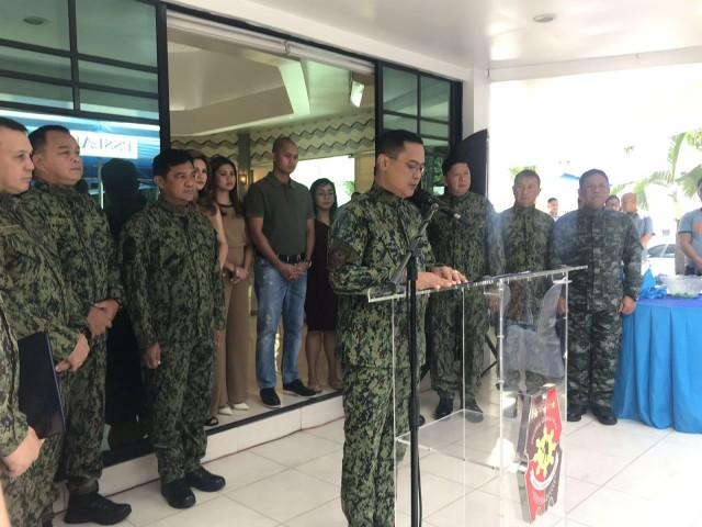 Police Lieutenant General Archie Gamboa formally assumes his post as the new chief of the Philippine National Police (PNP) on Monday, January 20, 2020 at a ceremony in Camp Crame.