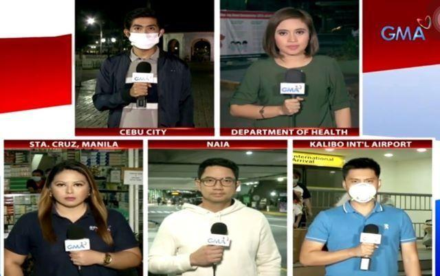GMA Reporters reported live from all over Metro Manila during the implementation of the Enhanced Community Quarantine. --Text and photos by Chino Gaston