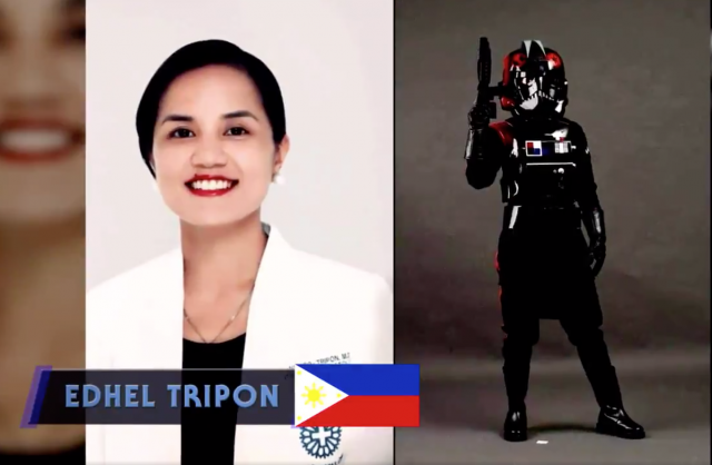 Edhel Tripon included in the Star Wars tribute to frontliners FROM STAR WARS UK Twitter account