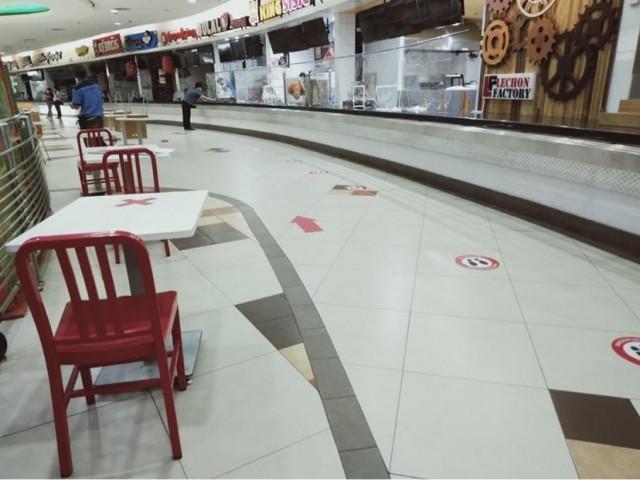 Ali Mall food court. Photo: Araneta City