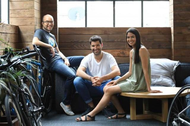 Canva Founders Cameron Adams, Cliff Obrecht, and Melanie Perkins