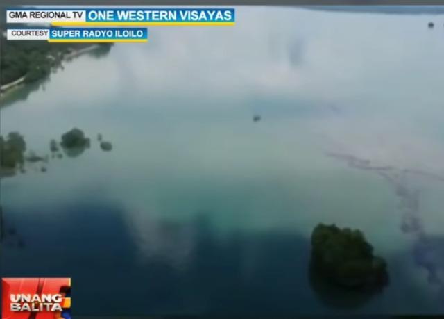 Oil spill from Iloilo reaches Guimaras