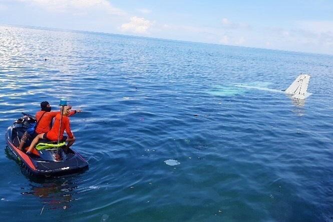 Pilot, passengers rescued as plane makes emergency landing off Zambo City