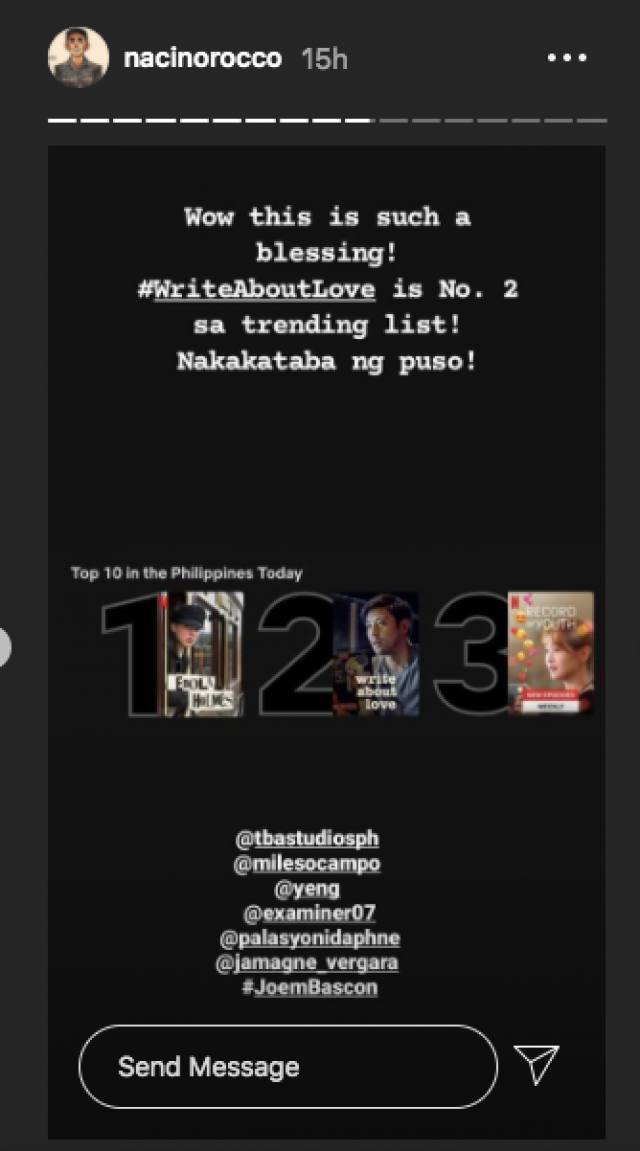 Courtesy: Rocco Nacino/Instagram Stories