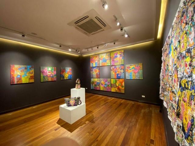 Bidibidi exhibit at Fundacion Sanso. Photo by Rachelle Medina
