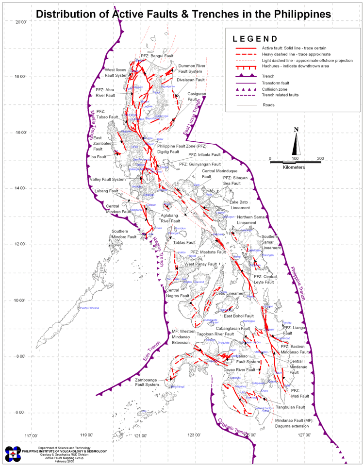 Philippine West Valley Fault Line Map Phivolcs: West Valley fault line 'ripe for movement' | News | GMA