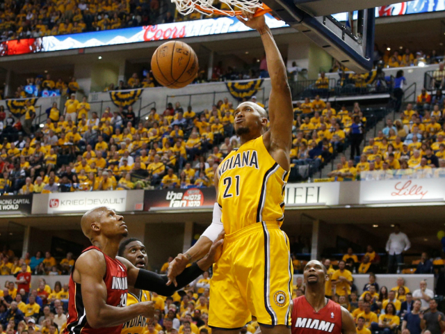 NBA: Pacers win game one of East Finals, lead Heat wire-to ...