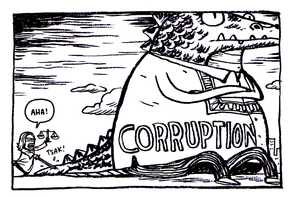 philipines graft and corruption Corruption is a persistent cancer that's killing our country and destroying the lives of many filipinos it's like a contagious disease that infects and transforms the young generation of leaders from righteous ones into wrongdoers.